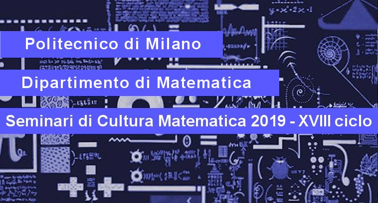 Politecnico Milano Calendario.Effediesse Seminari Di Cultura Matematica